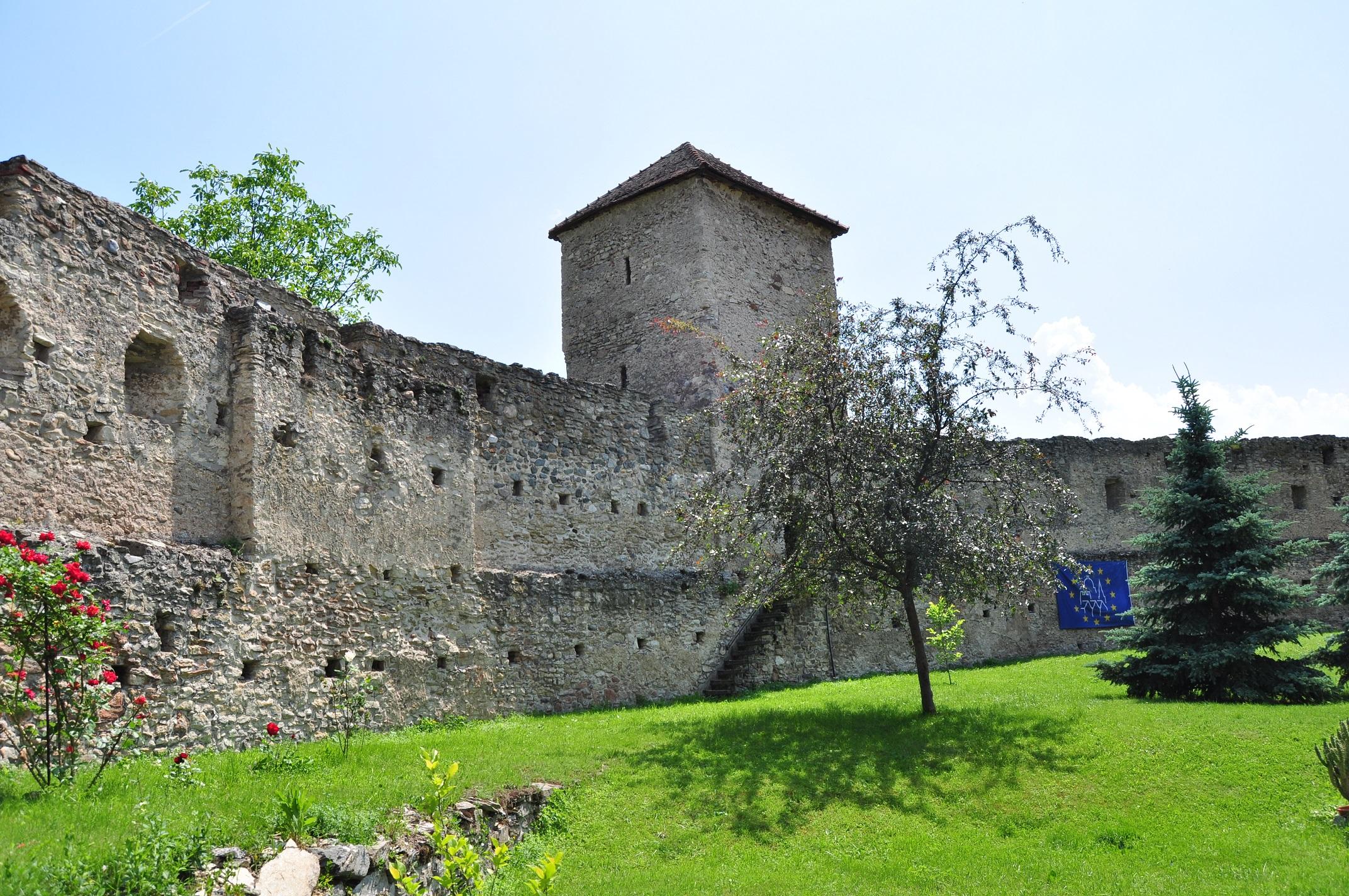 Cetatea Calnic 1