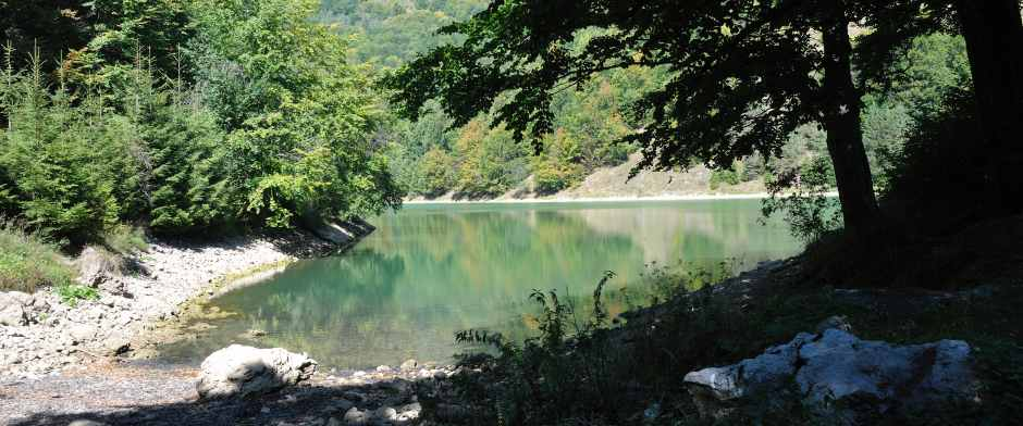 Lacul Ighiel sau Iezer din Trascau 2