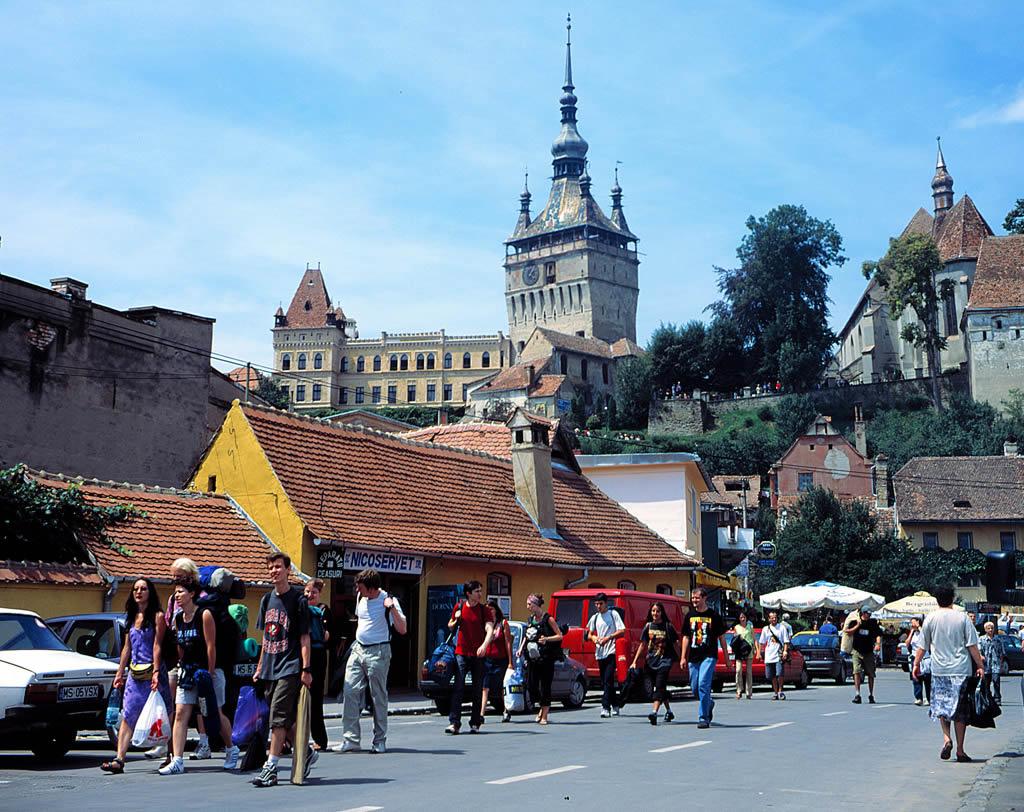 Cazare cetatea medievala sighisoara webcam