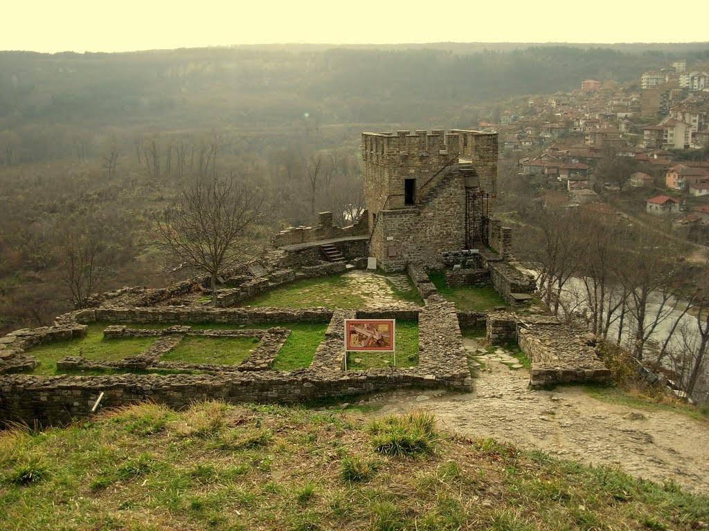 Cetatea Tsarevets, Bulgaria