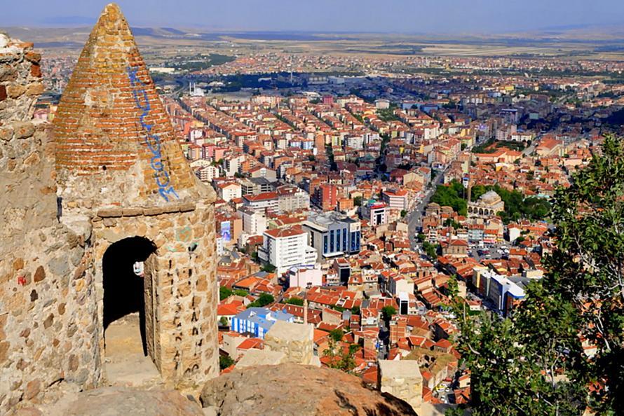 Orasul Afyon Turcia 2