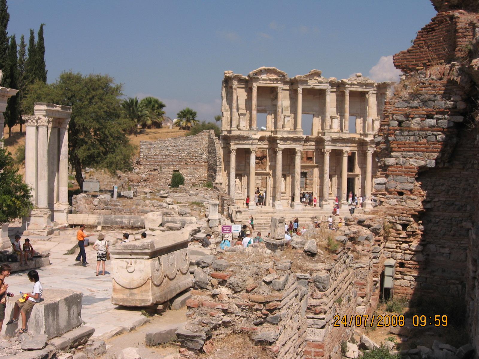 efes turcia harta Orasul Efes Turcia | Trecator prin lume efes turcia harta