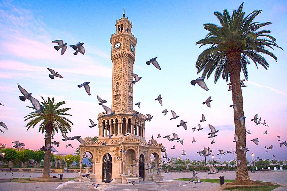 Orasul Izmir Turcia