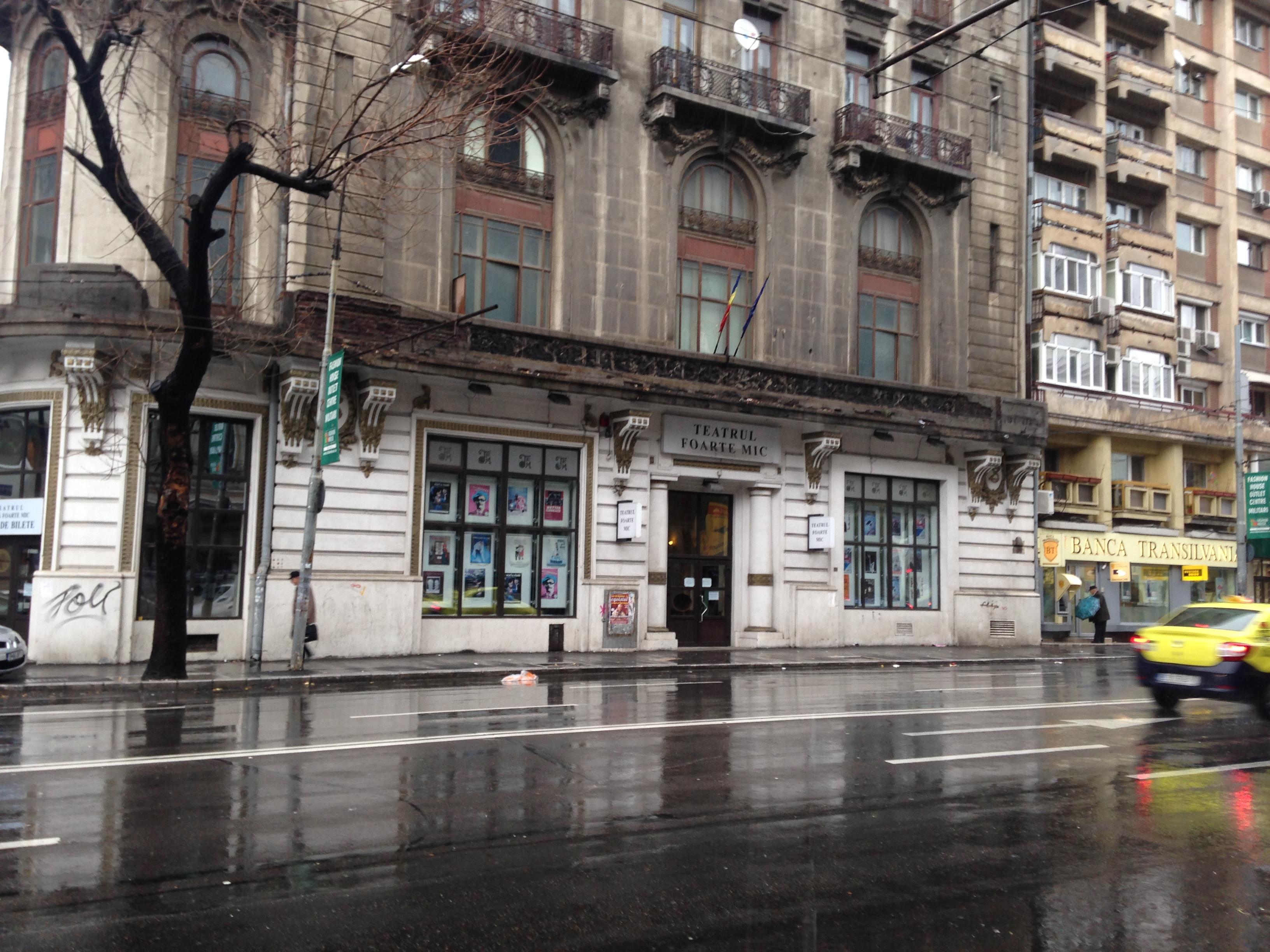teatru mic Bucuresti