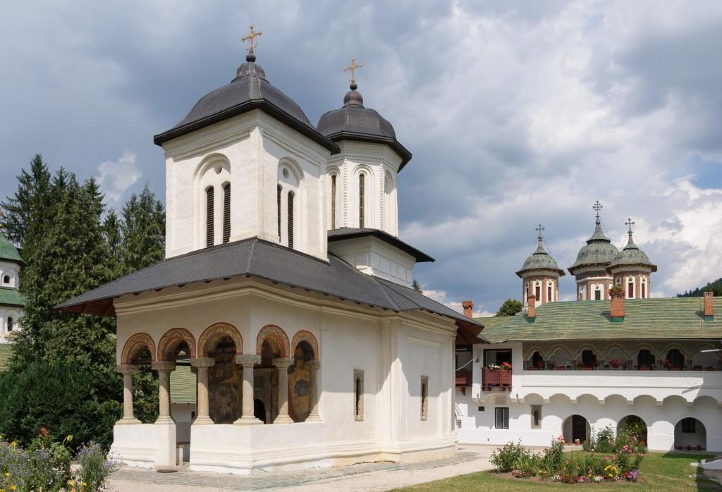 Monastere de Sinaia, Roumanie : Biserica Veche (la vielle eglise)