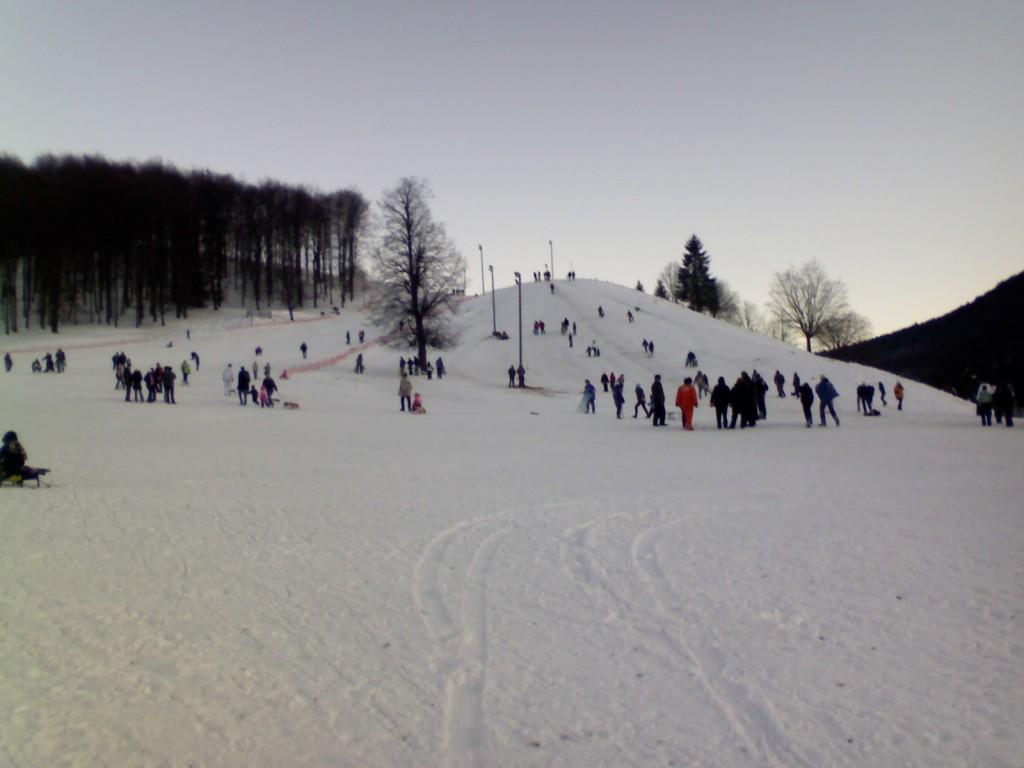 Pârtia de schi Malini
