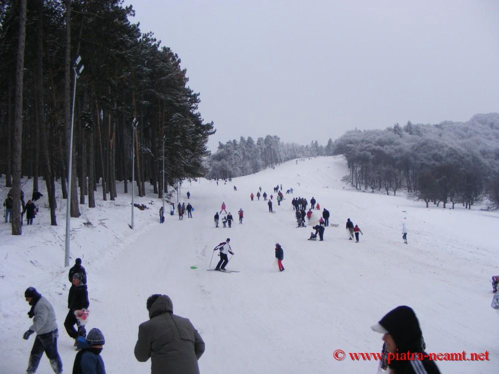 Partia de schi Cozla, Piatra Neamt