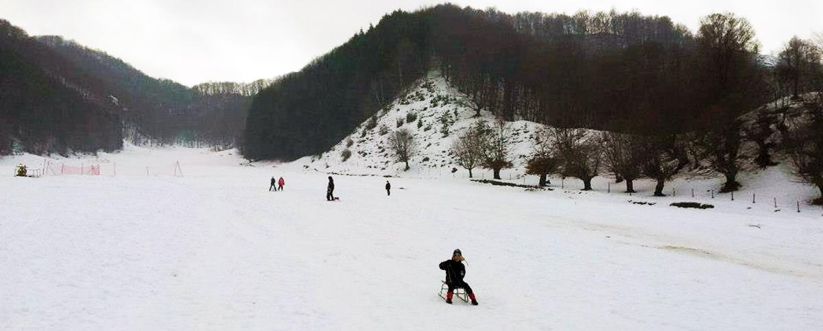 Partia de schi de la Perisani, judetul Valcea