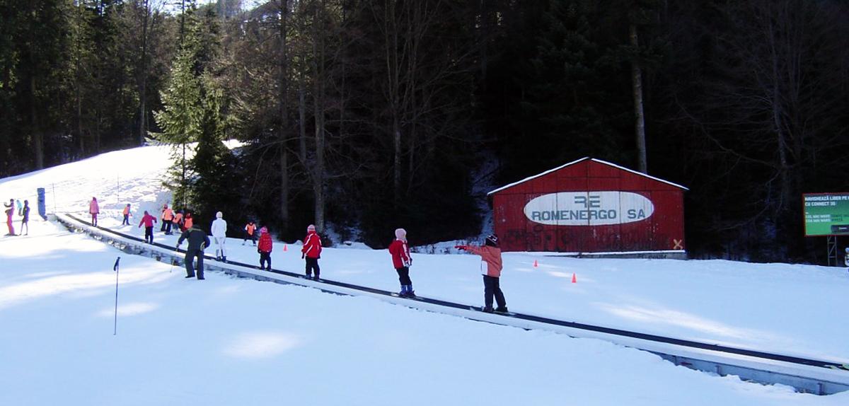 Partiile de schi din Azuga