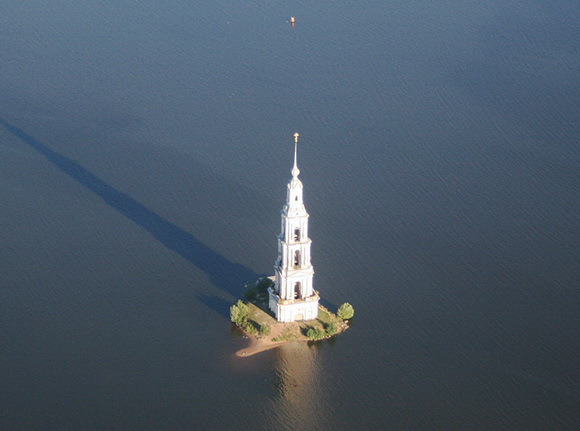 Turnul Mănăstirii Sfântul Nicolae, din Kalyazin, Rusia