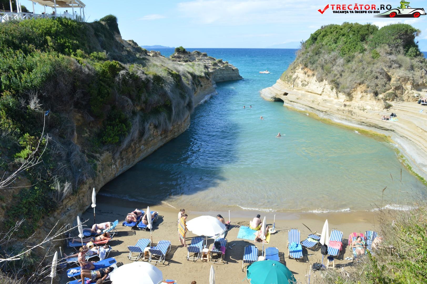 Canal D Amour Sidari Insula Corfu Trecator Prin Lume