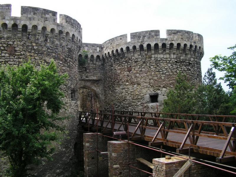 Fortăreața Kalemegdan 1