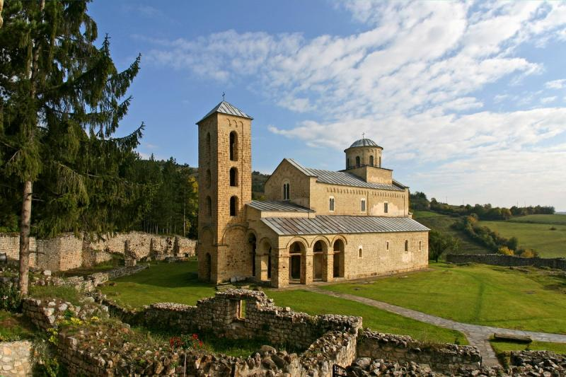 Manastirea Sopocani 1