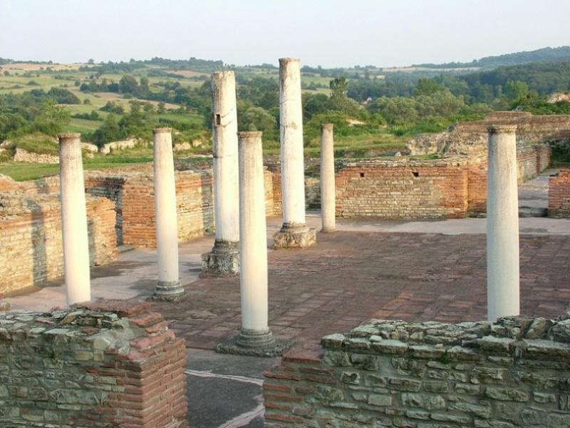 Ruinele Felix Romuliana 3