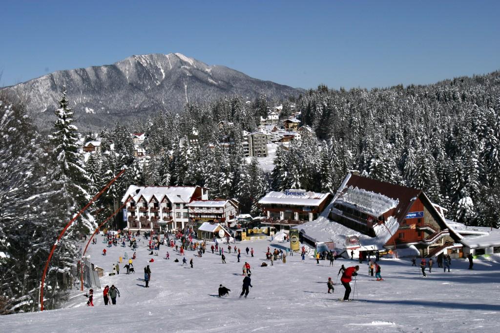Statiunea Predeal iarna