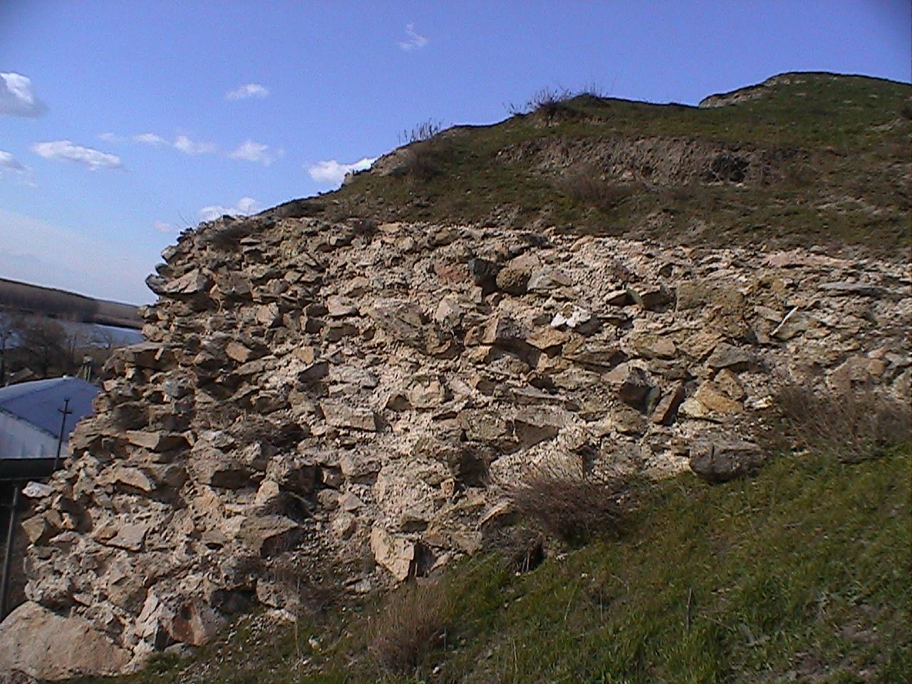 Cetatea Arrubium -Macin 1