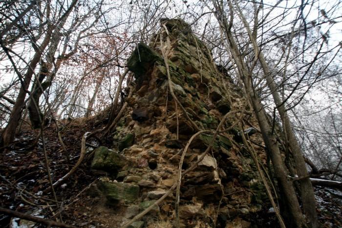Ruinele Cetăţii Chioarului 2