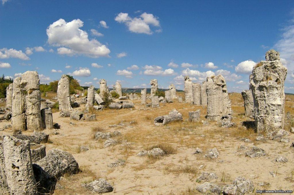 Pădurea de piatră din Bulgaria 1