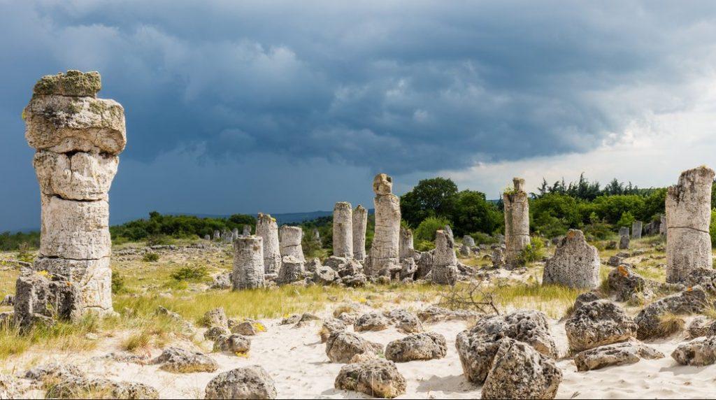 Pădurea de piatră din Bulgaria
