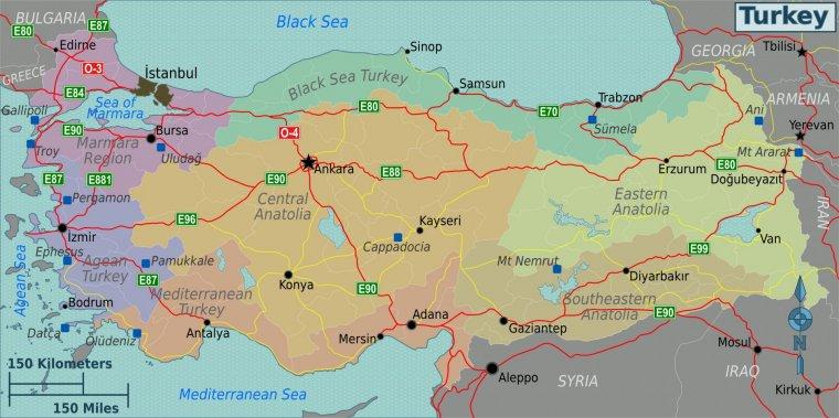 Autostrăzile Din Turcia Trecator Prin Lume
