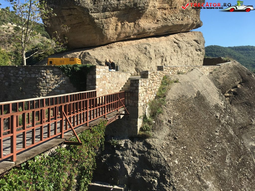 Manastirea Varlaam Meteora Grecia Trecator Prin Lume