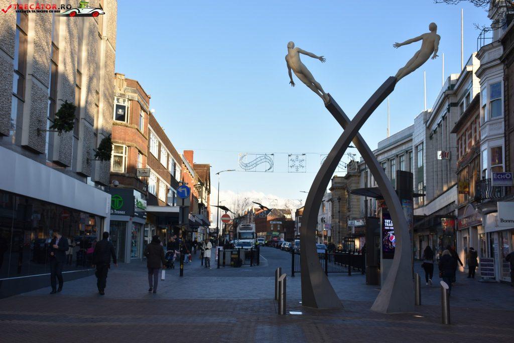 Orasul Northampton Anglia Trecator Prin Lume